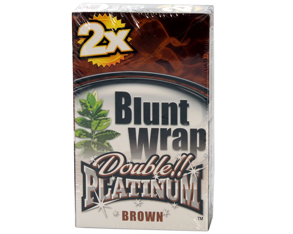Blunt Wrap Double Blunts - Brown - Chocolate