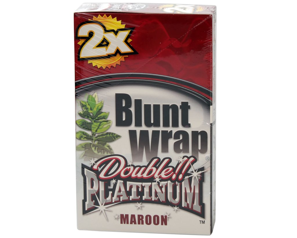 Blunt Wrap Double Blunts - Maroon - Wet Cherry